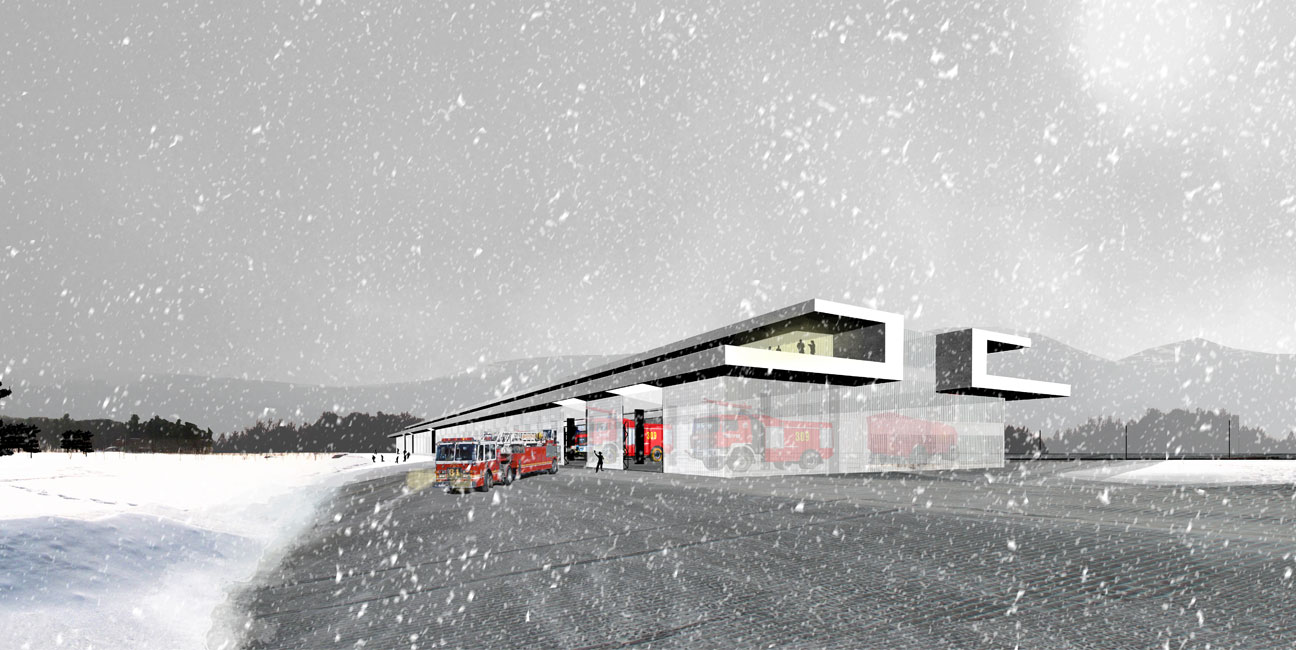 Centro de emergencias de Ljubljana, Eslovenia IGNACIO BORREGO Concurso 2014