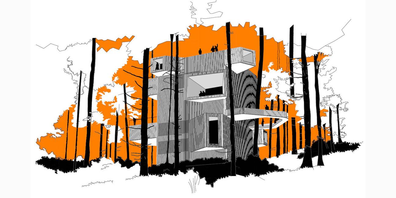 Centro de visitantes de la Selva Negra, Baden-Württemberg IGNACIO BORREGO Concurso 2014