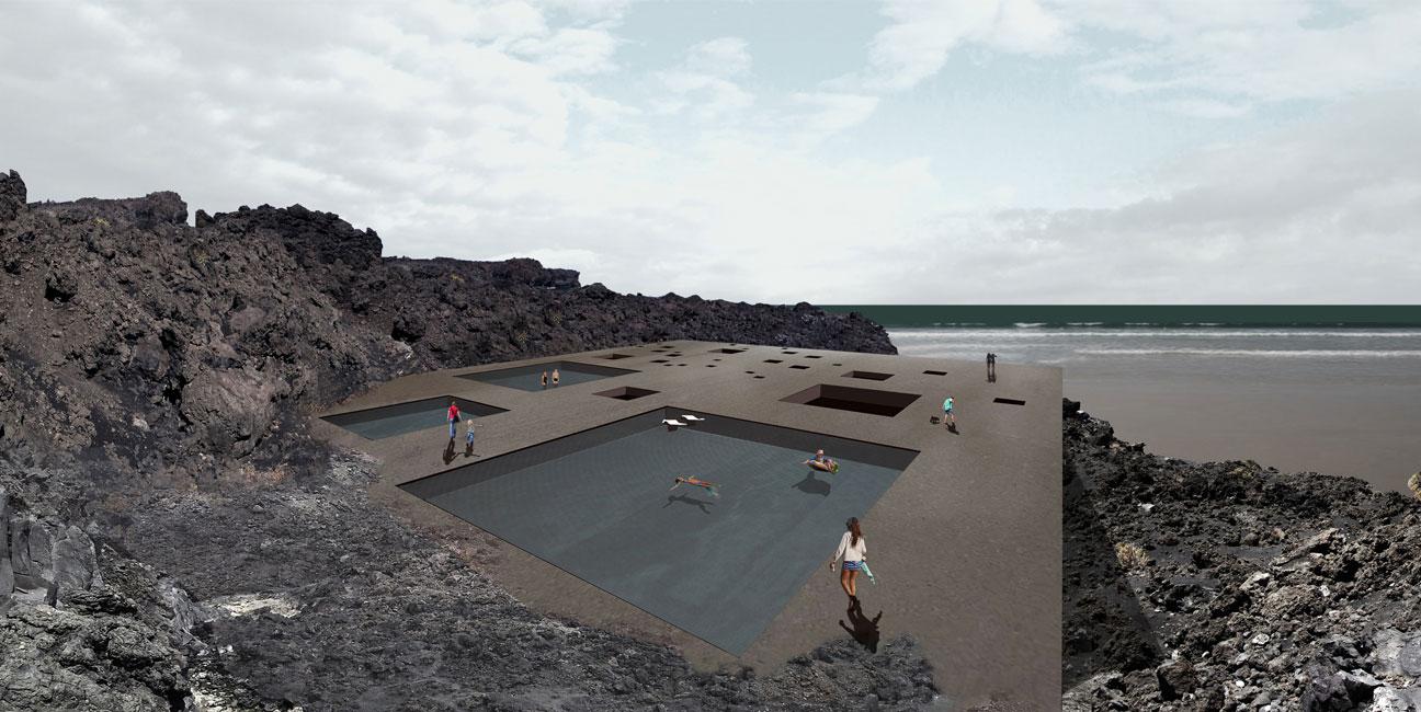 Balneario en La Palma, Islas Canarias IGNACIO BORREGO Concurso 2015