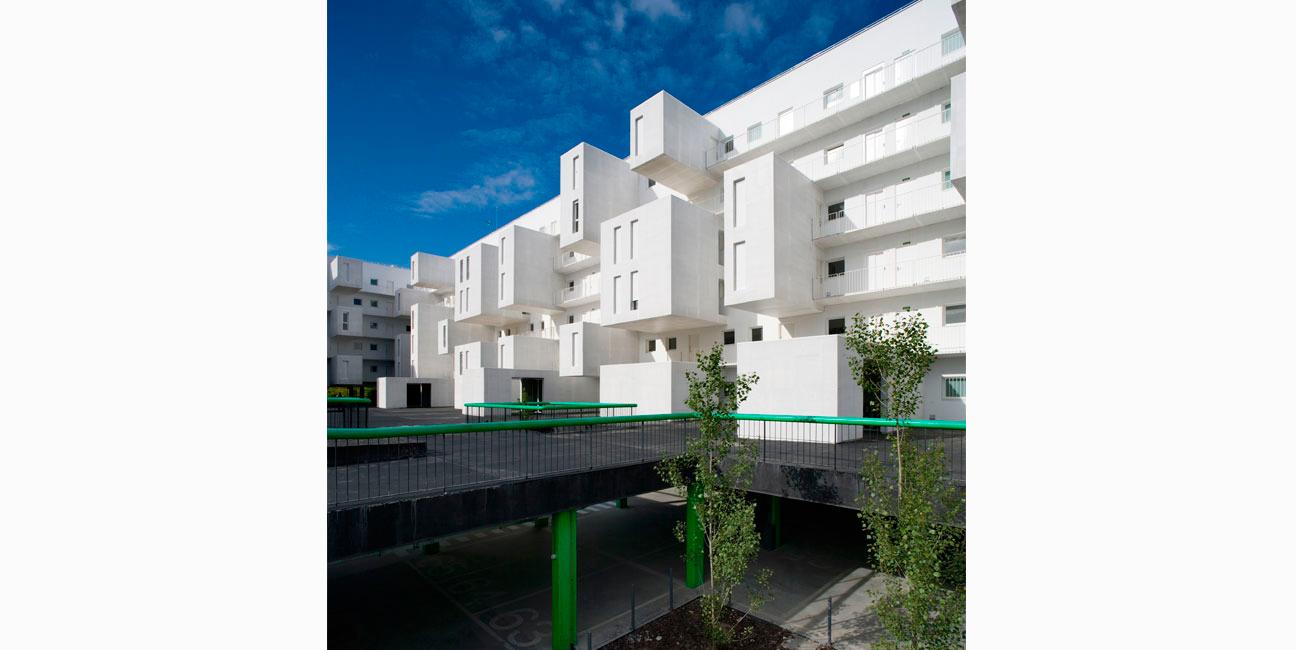 IGNACIO BORREGO - 102 viviendas en Carabanchel (EMVS), Madrid Concurso, 1er Premio 2003-2007
