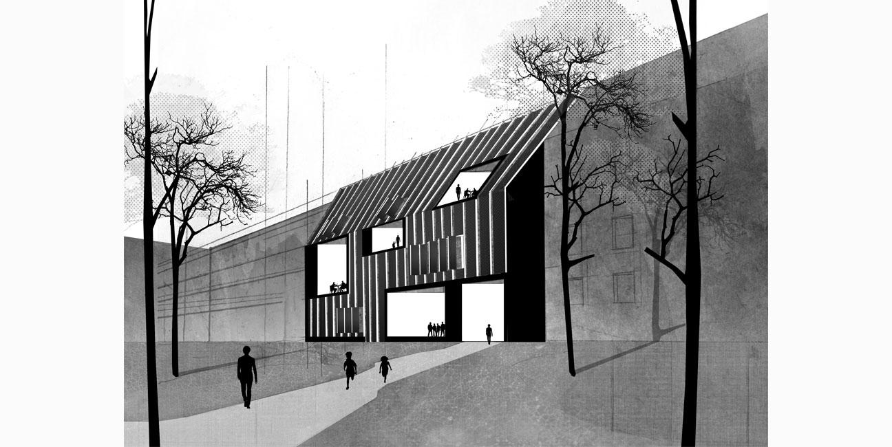 Centro de Arte ALUartforum en Zagreb, Croacia IGNACIO BORREGO Concurso 2014