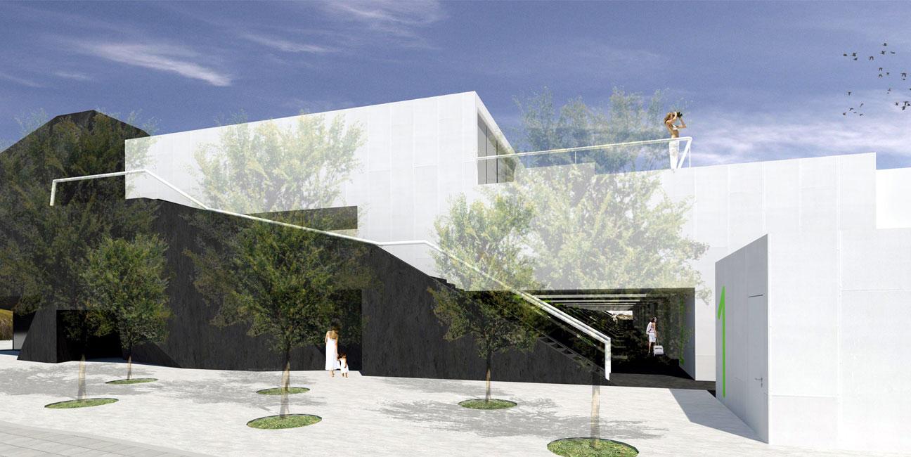 IGNACIO BORREGO 67 viviendas en Colmenar Viejo (IVIMA), Madrid Concurso 1er Premio. 2008