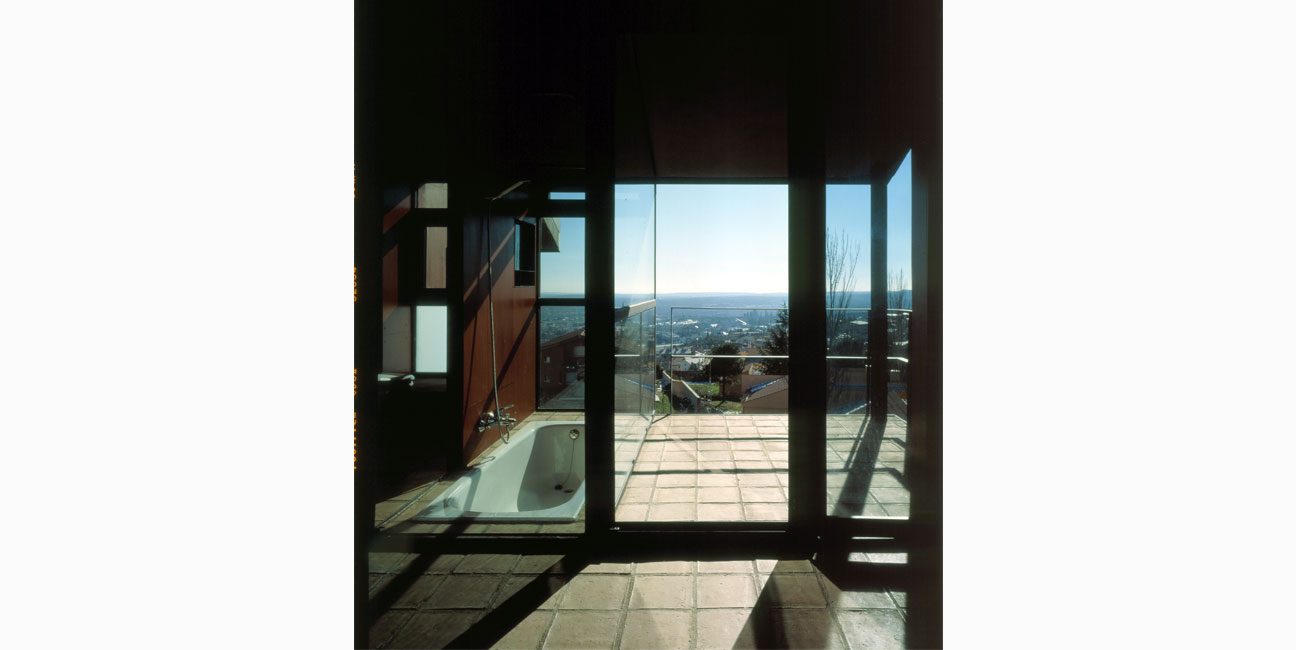 Casa y taller en El Escorial, Madrid 1997-2000 IGNACIO BORREGO