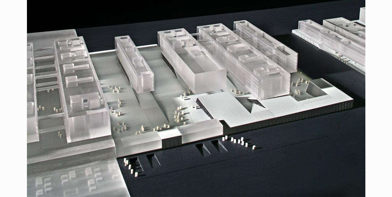 IGNACIO BORREGO Campus de la Justicia de Madrid Concurso, 2ª fase. Accésit. 2005